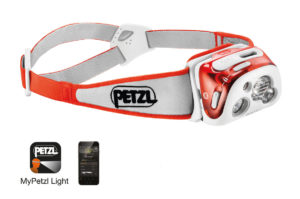 The Petzl Reactik+Headlamp