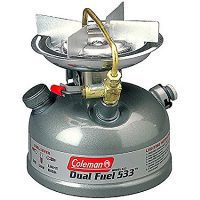 Coleman Single Burner Dual Fuel Stove