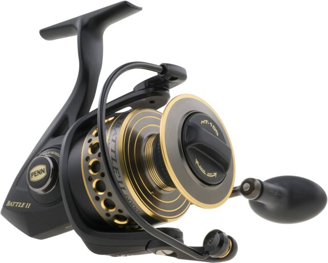 Penn Battle II 2000-best spinning reel on the lake