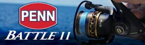 Penn Battle II 2000-best spinning reel on the lake